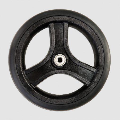 Колесо малое цельнорезиновое для колясок Akcesmed