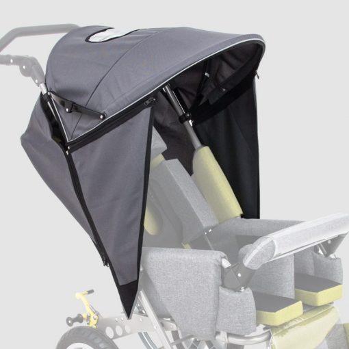 Складной навес с боковыми заслонками для колясок для колясок Akcesmed Рейсер, Рейсер+