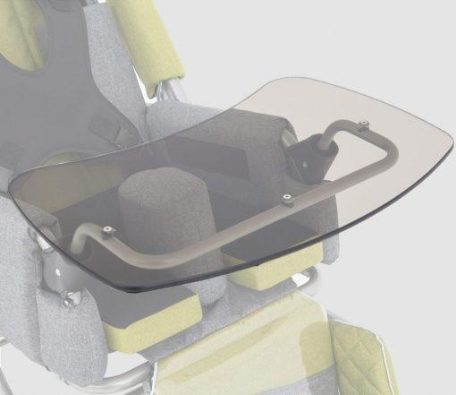 Столик Plexiglas для колясок Akcesmed