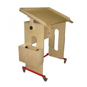 Подкатная стол-парта ОС-002.3