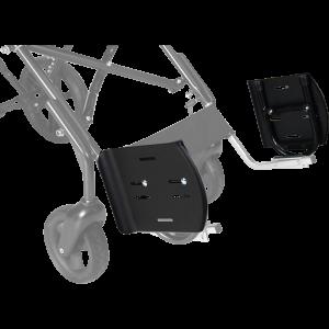 Поворотная опора для стоп для колясок Patron