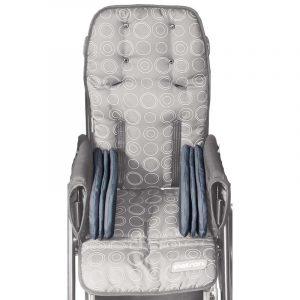 Подушечки с выдвинутыми направляющими для бедер для колясок Patron Rprk04801
