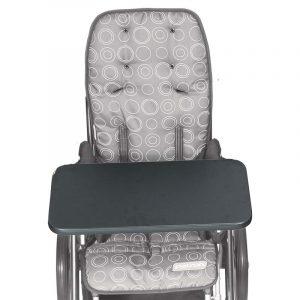 Столик пластиковый не прозрачный для колясок Patron Rprk08001