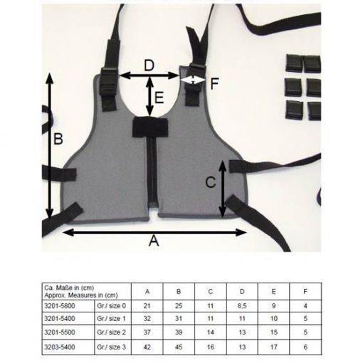 Фиксирующий жилет 3201-5800
