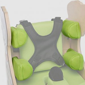 Независимо регулируемые боковые подушки AkcesMed