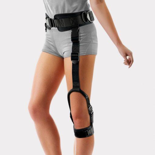 Динамичный ортез помогающий приподнимать нижнюю конечность – OKD-10, ортез активирует правильный образец походки, способствуя приподниманию и перемещению расслабленной нижней конечности.