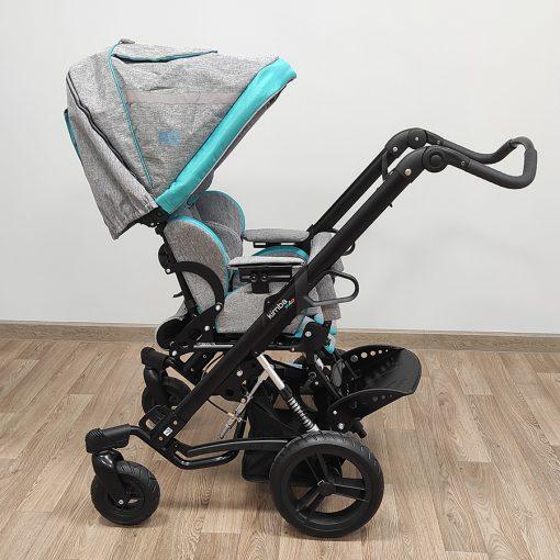 Кресло-коляска прогулочная для детей ДЦП Кимба Нео. Подголовник встроенный.