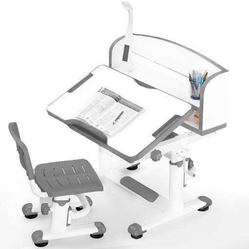 Комплект парта и стульчик Mealux BD-10 с лампой