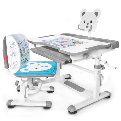 Комплект парта и стульчик Mealux BD-04 New XL Teddy