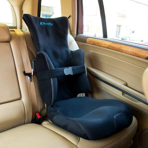 Вакуумное кресло с боковинами и подголовником BodyMap AC
